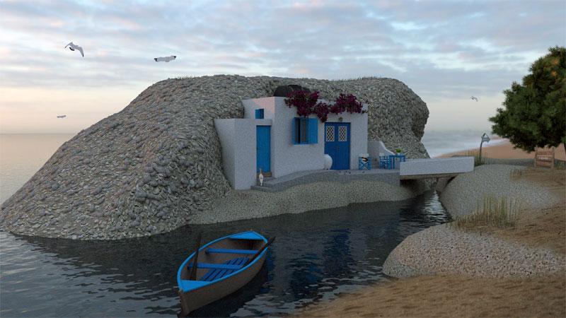 Greece Kimolos Island